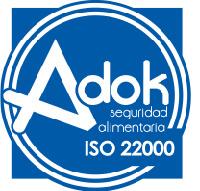 Sello calidad ISO 22000